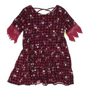 Ten Sixty Sherman Dress Girls Buffalo Check